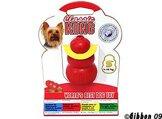 Hundleksak Kong Original gummi röd