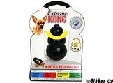 Hundleksak Kong Original gummi svart